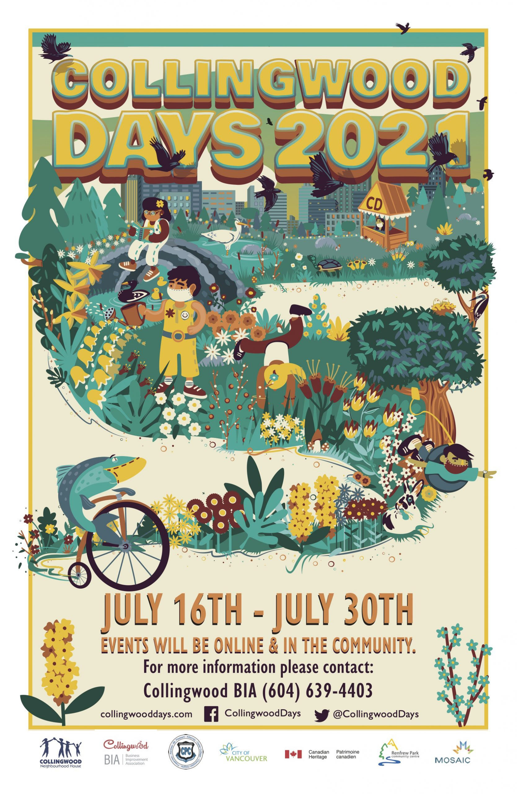 Collingwood Days Poster